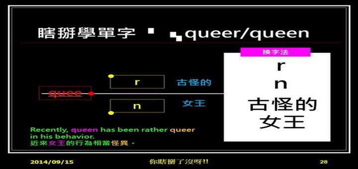queer queen 古怪的女王